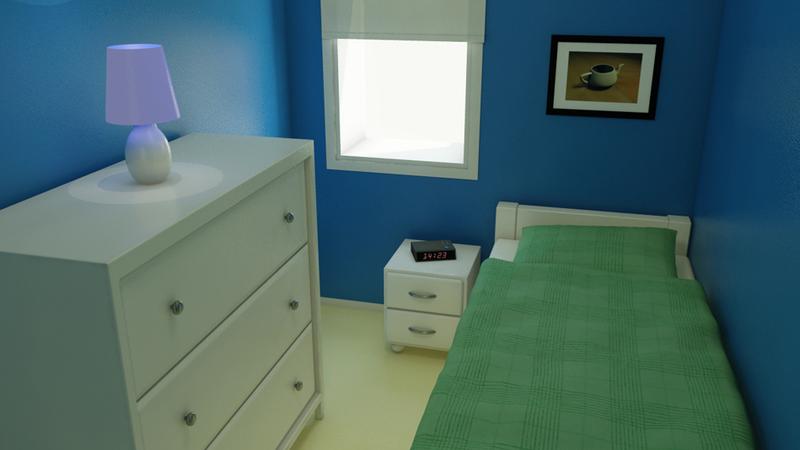 Apartment: Bedroom