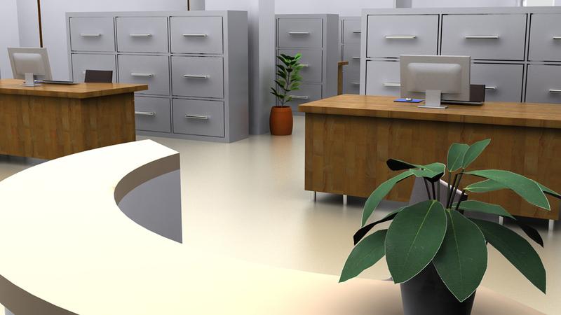 Interior: Bank